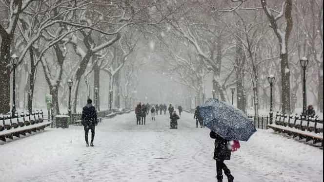 Prognoza meteo: miercuri, 5 februarie. Cum va fi vremea în București, Brașov, Constanța, Cluj-Napoca și Iași. Vin ninsori abundente cantitativ