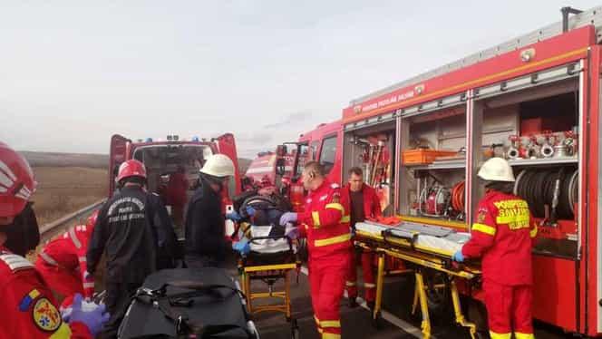 Plan roșu de intervenție la Vaslui! Şapte persoane rănite într-un accident înfiorător