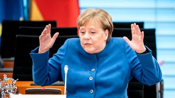 Angela Merkel, în carantină! Cancelarul a intrat în contact cu un doctor care avea virusul