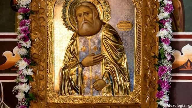 Calendar ortodox 2 ianuarie. Este prăznuit Sfântul Serafim de Sarov