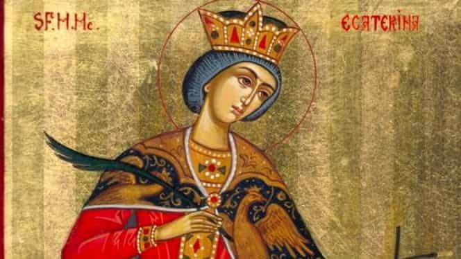 Calendar Ortodox 25 noiembrie- Sfânta Muceniță Ecaterina