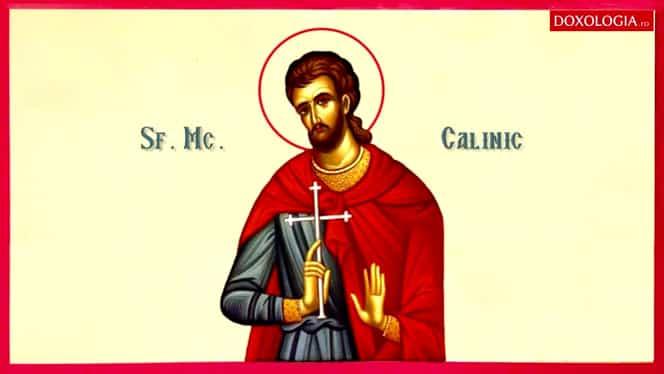 Calendar ortodox, luni, 29 iulie. Sfântul Mucenic Calinic