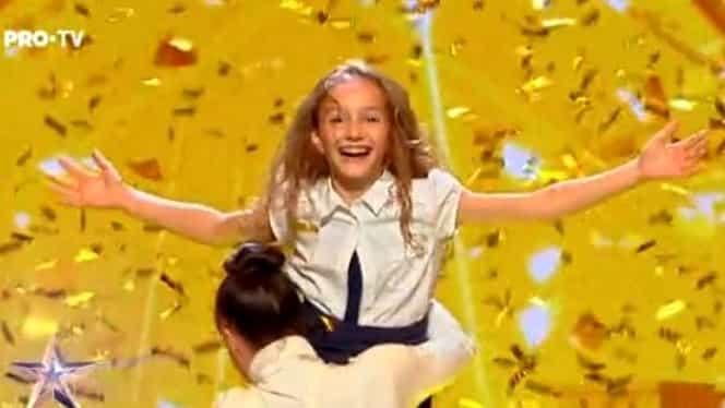Ema Stoian, la Antena 1! Cum a apărut micuța balerină de la Românii au Talent, în platoul lui Răzvan și Dani
