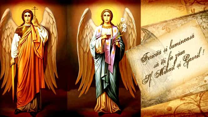 Sfinții Mihail și Gavriil: cele mai frumoase 30 de mesaje pentru sărbătoriți