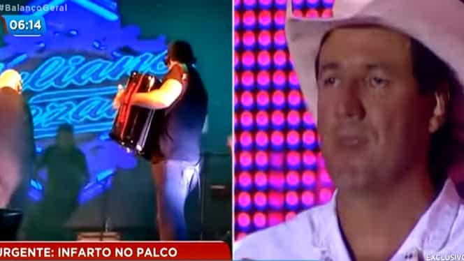 Cântărețul brazilian Juliano Cezar a murit pe scenă, de Revelion. Artistul suferise un infarct – Video