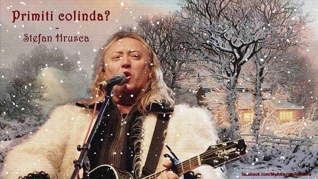 """""""Zeul"""" colindelor de Crăciun, Ştefan Hruşcă, a ajuns la 61 de ani și continuă să ne încânte cu minunatele colinde de Crăciun"""