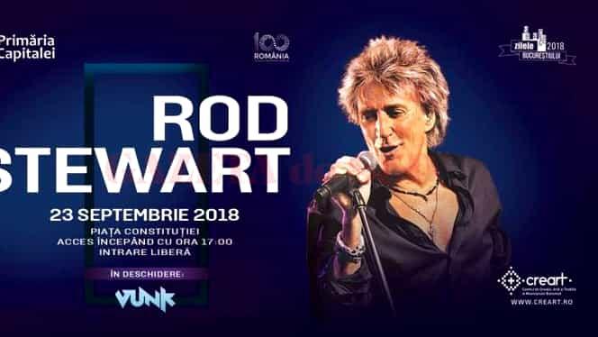 Zilele Bucureștiului 2018! În ultima seară ne va încânta Rod Steward!