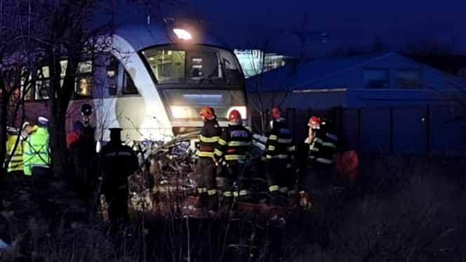 Accident înfiorător la Timișoara! Șofer spulberat de tren