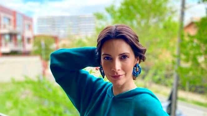 Cum arată fiica Andreei Berecleanu. Eva Zaharescu este o domnișoară foarte frumoasă. Foto