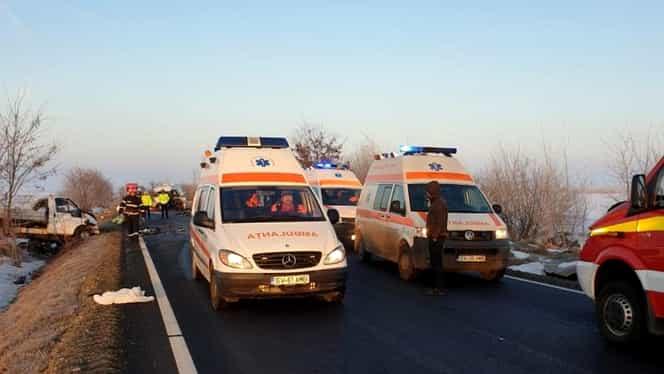 Plan roșu de intervenție, la Suceava: doi morți și șapte răniți, în urma unui accident în Sasca Nouă. VIDEO