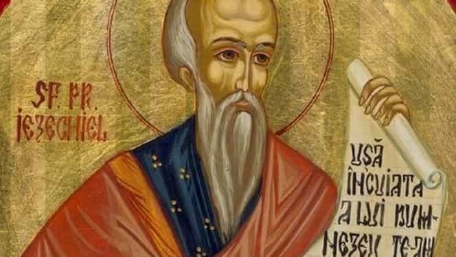 Calendar ortodox duminică, 21 iulie 2019. Sfântul zilei este Prorocul Iezechiel. Ce rugăciune se spune azi