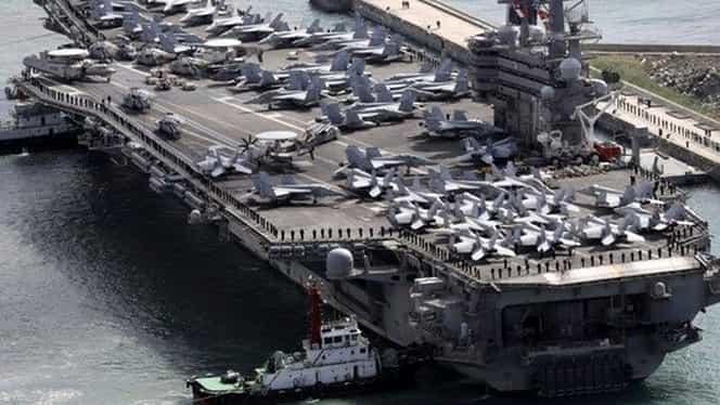 Avion militar american prăbuşit în Oceanul Pacific! 11 militari se aflau la bord!