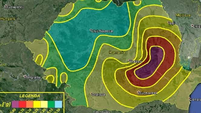 Cutremur în această dimineață în România. S-a produs la ora 03:30 în zona Vrancea