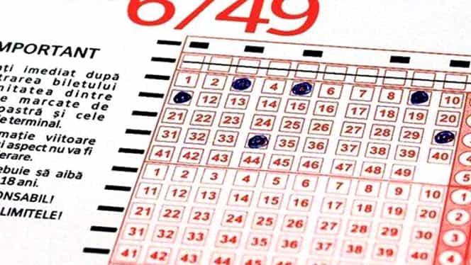 Loto 6/49. Numerele extrase duminică, 25 noiembrie