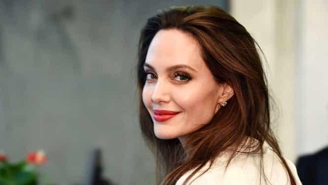Angelina Jolie, apariție de senzație la premiera filmului Maleficent 2. A atras toate privirile cu ținuta ei FOTO