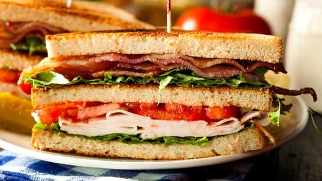 Rețeta zilei de azi, 9 septembrie 2019. Sandwich-ul ideal de pus în pachețelul școlarilor