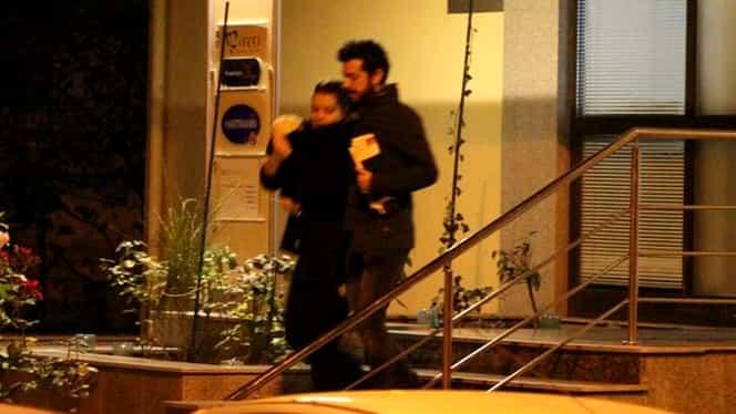 Primele imagini cu Marius Moga şi bebeluşul. Unde a dus-o pe Maria