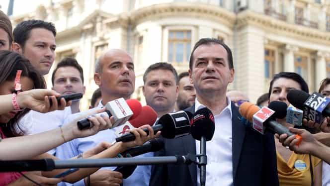 PNL i-a propus două variante lui Iohannis în cadrul consultărilor: anticipate sau Ludovic Orban premier