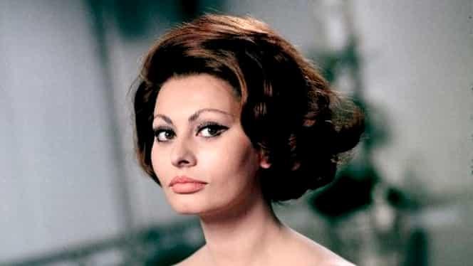 "Sophia Loren: ""Aş juca într-un film al unui regizor român"""