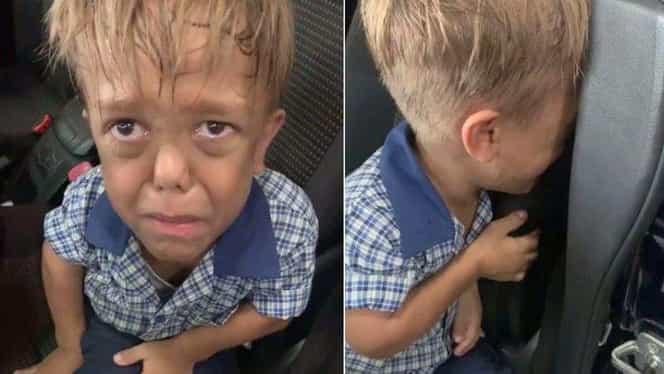 Un copil de 9 ani o roagă pe mama sa să îl lase să moară. Filmarea care a înduioșat o lume întreagă