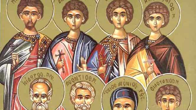 Sfinţii 45 de Mucenici din Nicopolea Armeniei