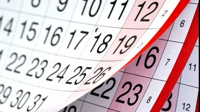 Calendarul zilelor libere din 2018! Românii se vor mai bucura de minivacanțe!