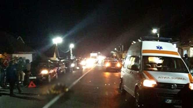Accident grav în județul Vâlcea! Un om a murit după ce un TIR s-a ciocnit cu o mașină