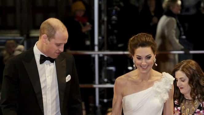Cum a apărut Kate Middleton la Premiile Bafta! Soția Prințului William a purtat cerceii Prințesei Diana