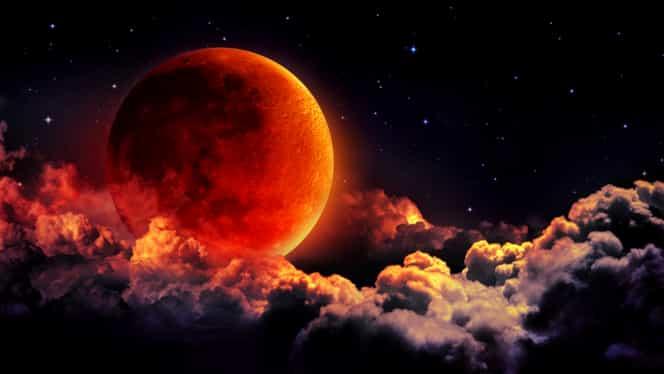 Horoscop perturbat de eclipsa de Lună. Mai multe zodii vor traversa schimbări majore pe 21 ianuarie