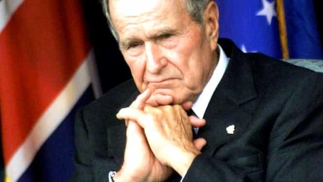 Drapelele americane, în bernă 30 de zile la Casa Albă, după moartea lui George Bush! Klaus Iohannis, îndurerat