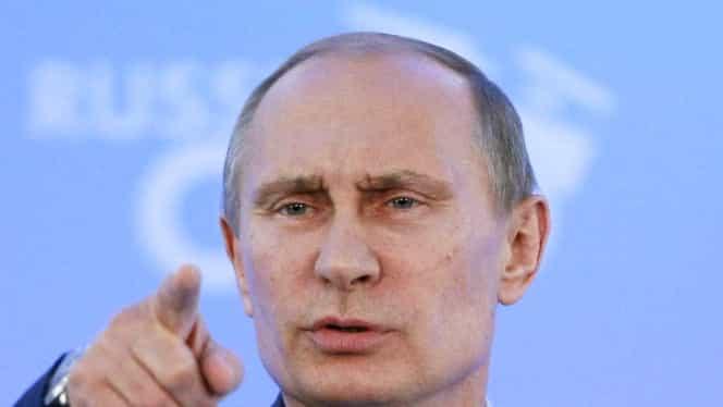 """Putin acuză SUA: """"Washingtonul e responsabil de masacrele din Siria"""""""