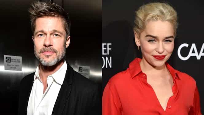 Brad Pitt a oferit 120.000 de dolari pentru o seară alături de Khaleesi, din Game of Thrones!