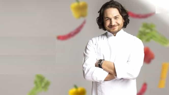 Chef Florin Dumitrescu gătește împreună cu fiicele sale! Ce ingrediente alege pentru copiii săi!
