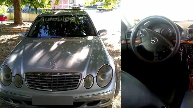 Câţi kilometri a făcut un taximetrist cu acest Mercedes E-Class din 2003. Ce promisiune a primit George din partea uzinei din Stuttgart