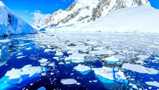 Alertă la nivel planetar! 15% din gheața Antarcticii s-a topit în ajunul Crăciunului