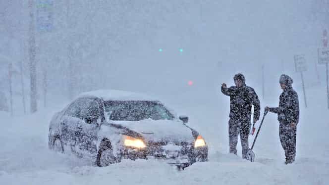 ANM, informare de ninsori abundente, în următoarele două zile! Ce se întâmplă în țară