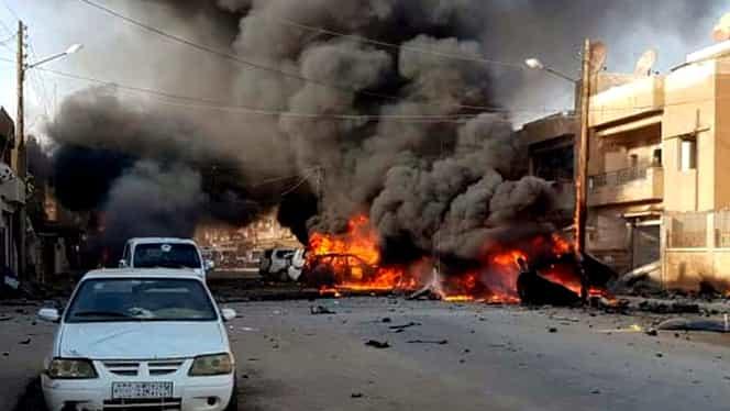 Atentat cu mașină-capcană în Siria, soldat cu 9 morți și 22 de răniți. Doi copii, printre victimele tragediei