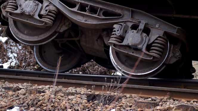 Tren deraiat în Hunedoara în urmă cu puțin timp! Ce s-a întâmplat