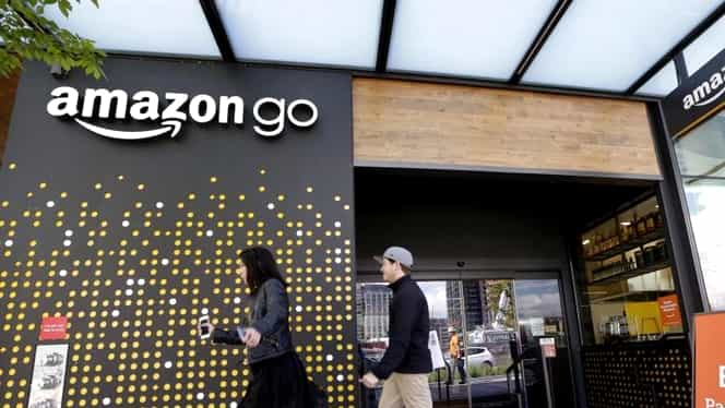 Amazon a deschis primul supermarket! Nimeni nu stă la coadă!