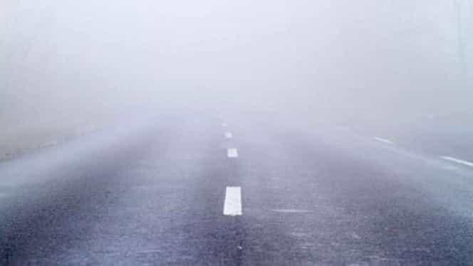 Cod galben de ceață pentru 15 județe din Moldova și Transilvania