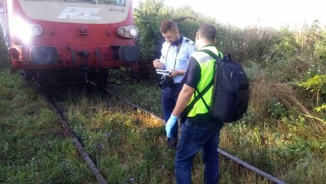 Un bărbat de 74 de ani a murit după ce a fost lovit de tren. Bătrânul din Teleorman nu s-a asigurat la trecerea cu calea ferată