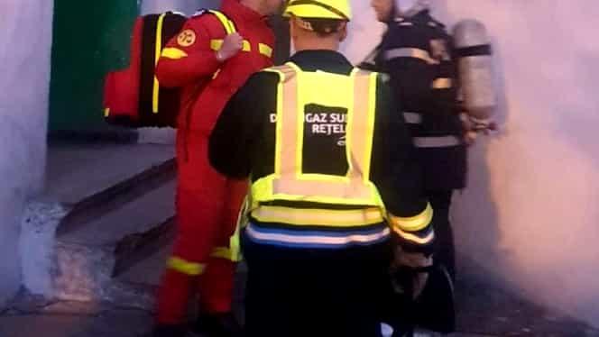 Un bloc întreg a fost evacuat în Galați din cauza mirosului lăsat de un spray lacrimogen în scară