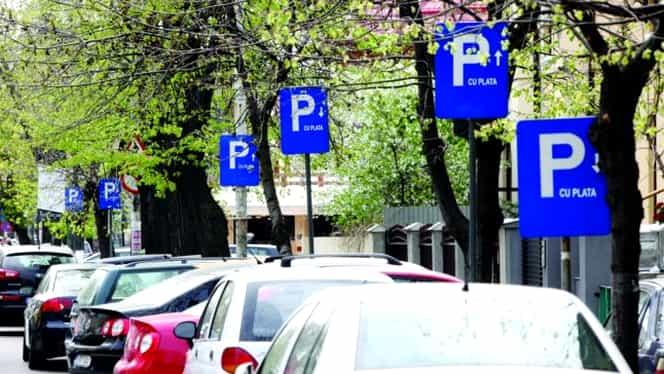 Prețul parcărilor din București a explodat! Cât costă să parchezi în centrul Capitalei!