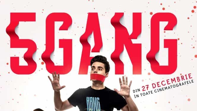 """Anunț de ultima oră pentru fanii Selly și 5GANG! Filmul """"5GANG, un altfel de Crăciun"""" apare pe 27 decembrie"""
