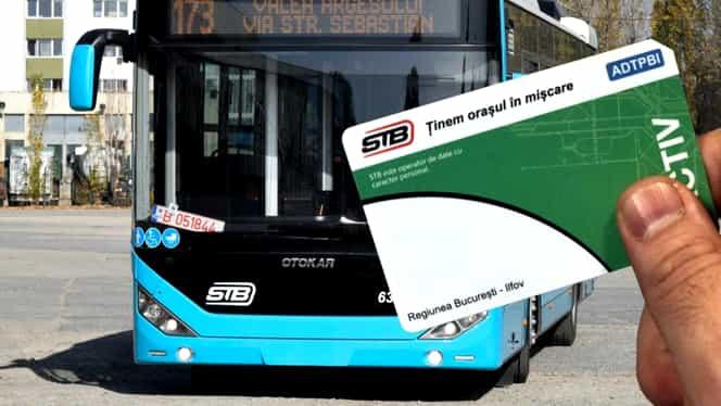 Atenție, pensionari și elevi! Abonamentele STB gratuite trebuie validate de fiecare dată!