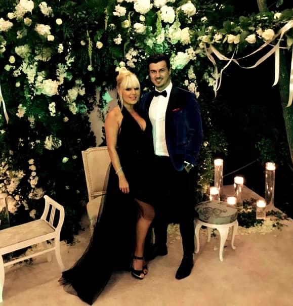 Elena Udrea, alături de iubitul său,Adrian Alexandrov. Acesta s-a întors de urgenţă în România