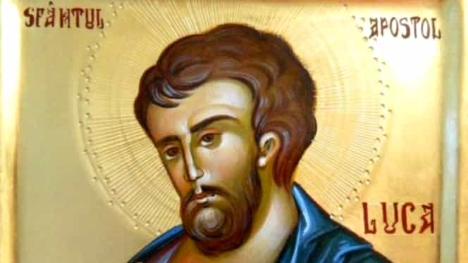 Mare sărbătoare mâine în calendarul ortodox. Este sărbătorit Sfântul ce poartă numele de Luca