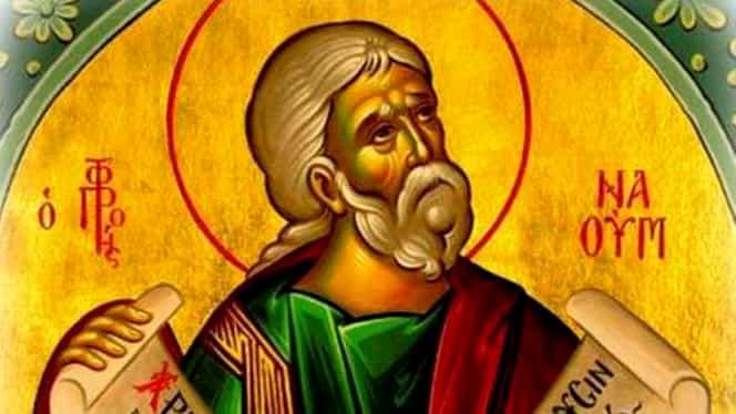 Calendar ortodox 1 decembrie: Sfântul Prooroc Naum