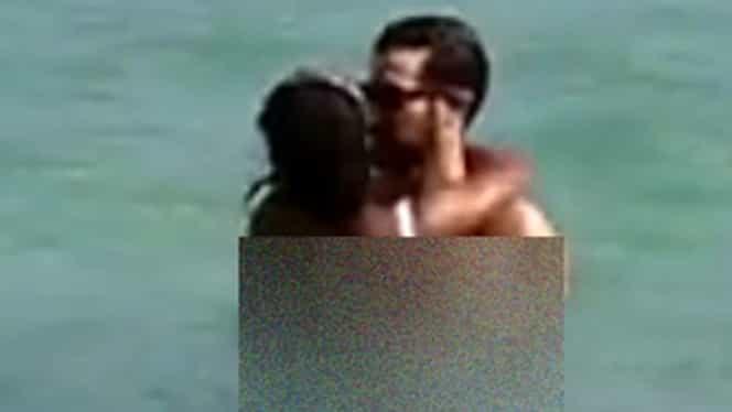 Ce cuplu fără ruşine! Vedeta TV şi iubitul ei, sex în apă! Au intrat împreună în mare şi au început… Imagini interzise cardiacilor!
