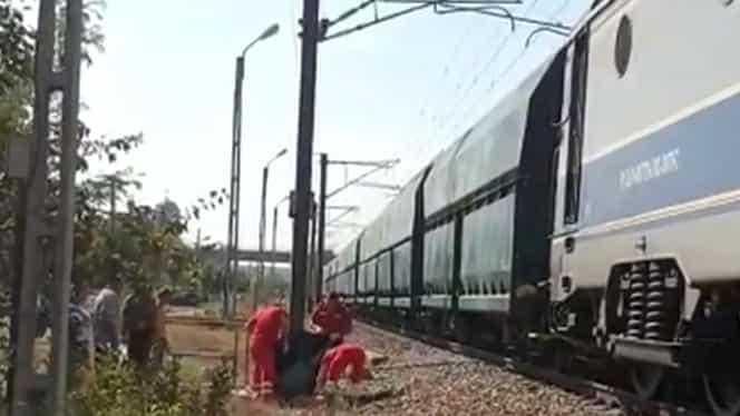 O femeie a fost călcată de tren în județul Constanța. Ce au declarat localnicii despre victimă